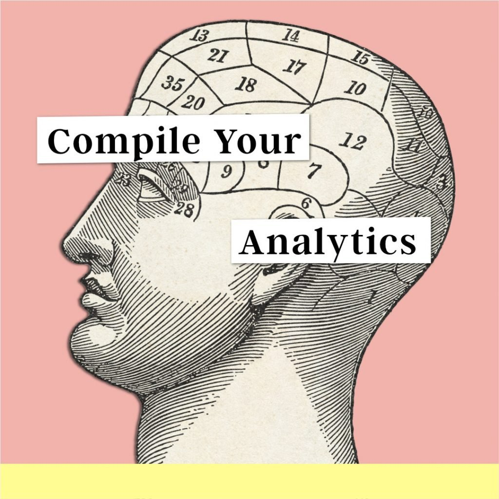 Compile your analytics with a medical chart of the human head
